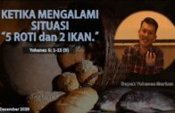 Jangan Kehilangan nilai penting (Bpk. Yohanes Marbun)
